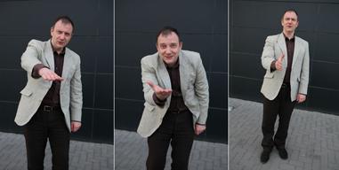 Beograd.03.04.2012. Marko Stojanovic pantomimicar.ZA ALOFoto:Masanori Josida